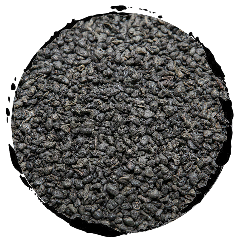 Organic Deep Flavor Genuine Chinese Gunpowder Tea