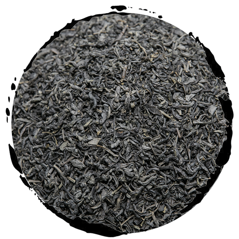 Best Chinese Organic Loose Big Leaf Chunmee Green Tea